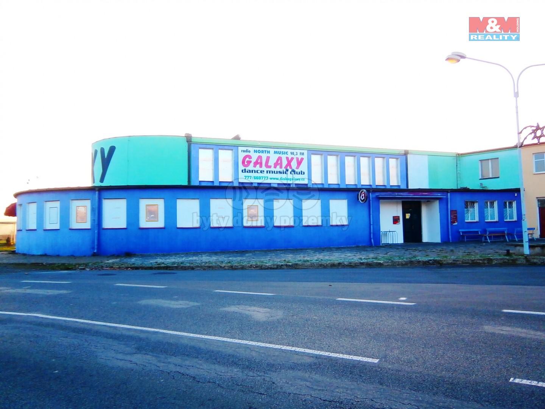 Prodej, diskotéka s restaurací a bytem, Hrdly u Litoměřic