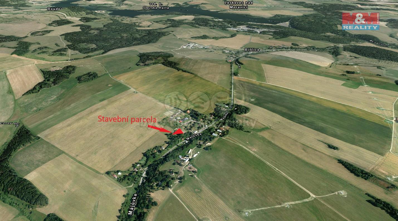 Prodej, stavební parcela, Bílčice - Májůvka