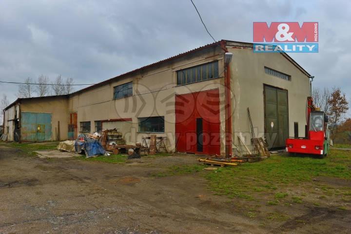 (Prodej, výrobní hala s komerčními prostory, 7186 m2, Vilémov), foto 1/15