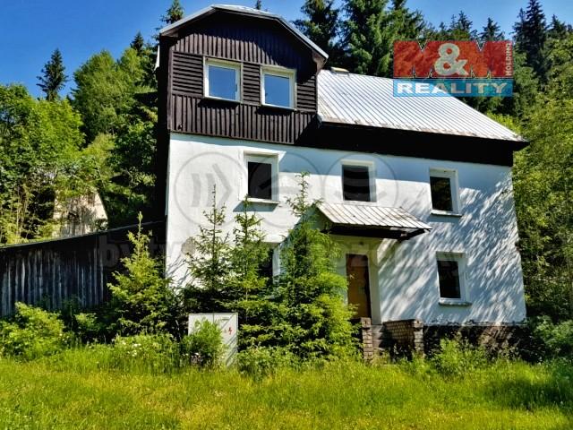 Prodej, rodinný dům, 276 m2, OV, Boží Dar, Zlatý Kopec