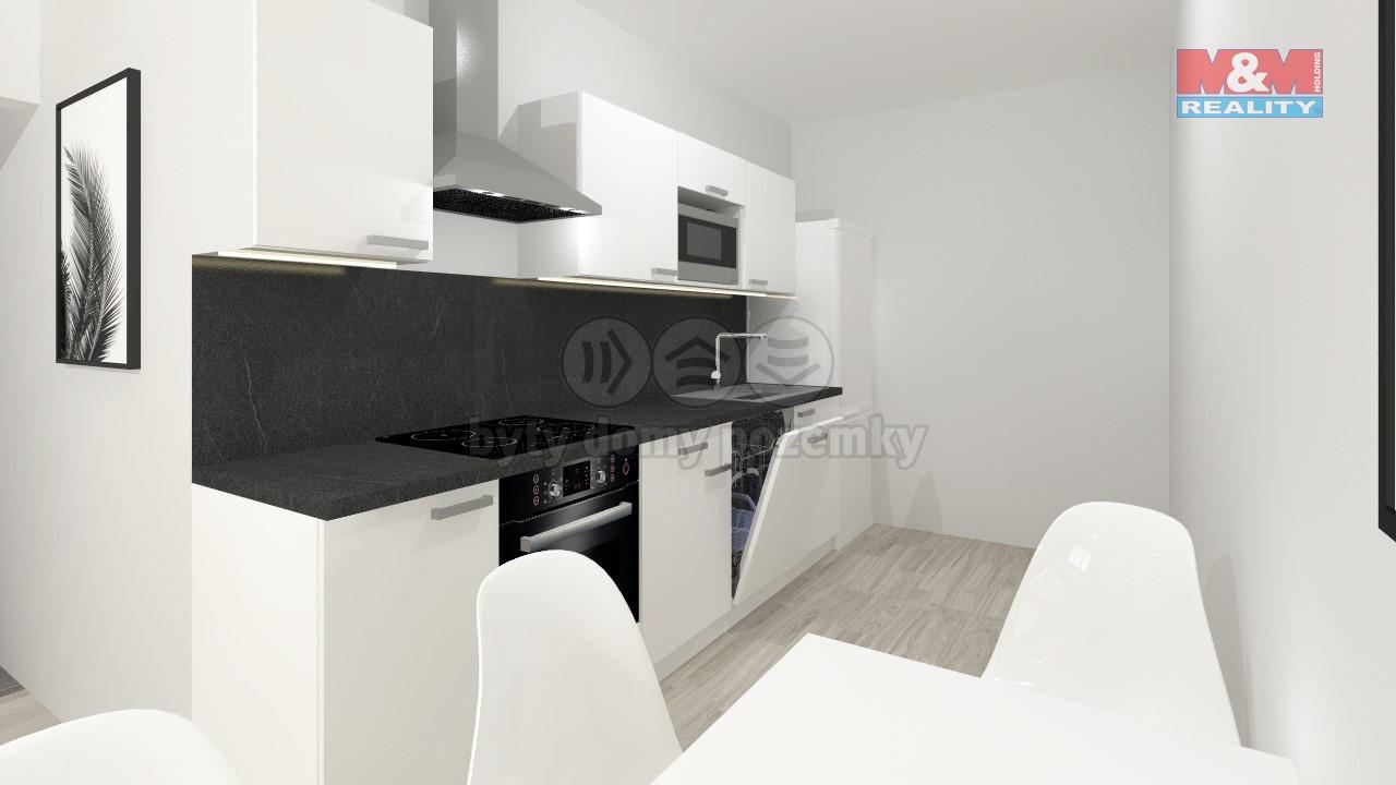 Prodej, byt 1+1, 42 m2, Lichnov