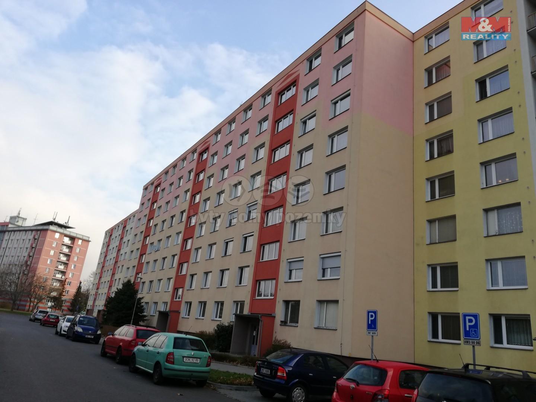 Pronájem, byt 3+1, 75 m2, Olomouc - Heyrovského, lodžie