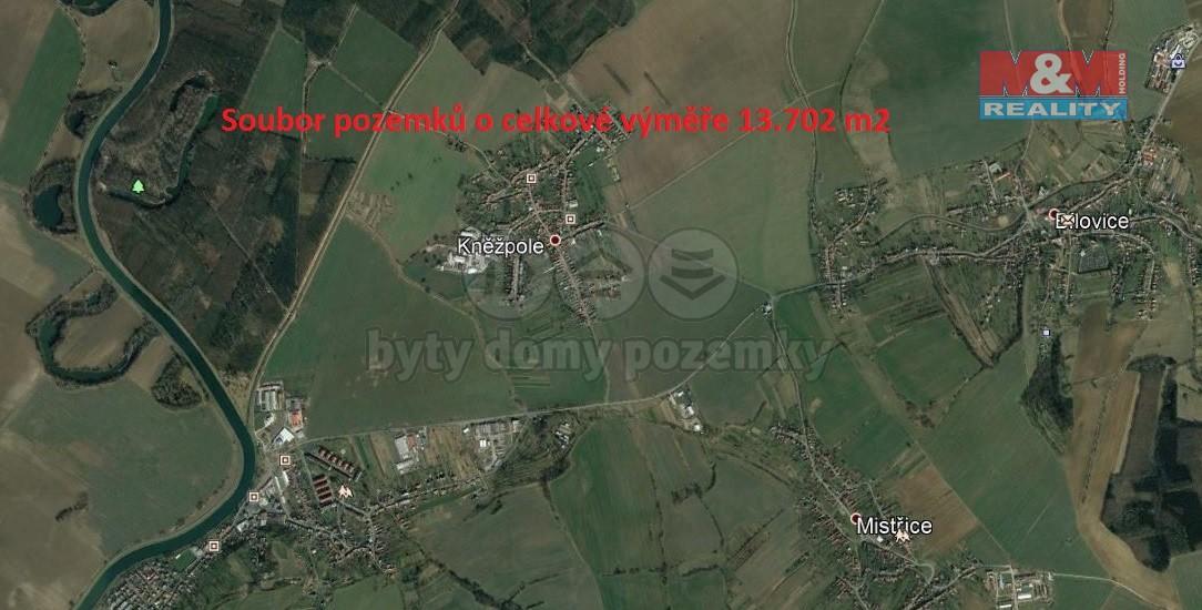 Prodej, pole, 13702 m2, Kněžpole u Uherského Hradiště