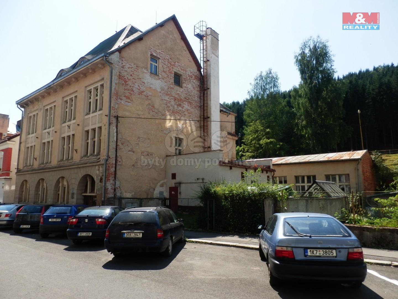 (Prodej, skladový objekt, 1221 m2, Kraslice, ul. Pod nádražím), foto 1/39