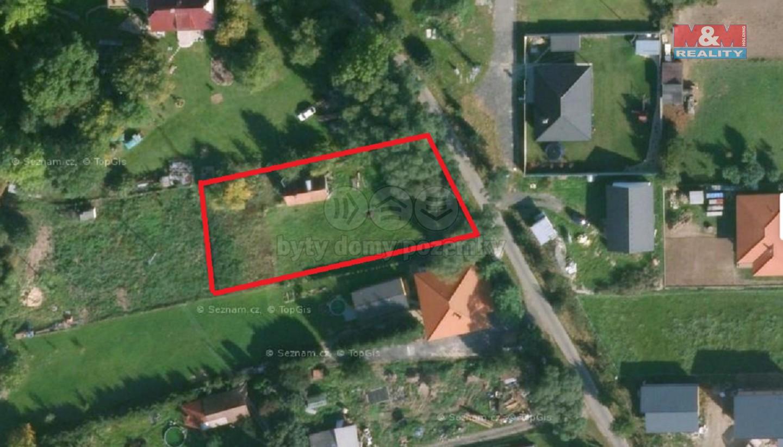 Prodej, stavební parcela, 1410 m2, Myslkovice