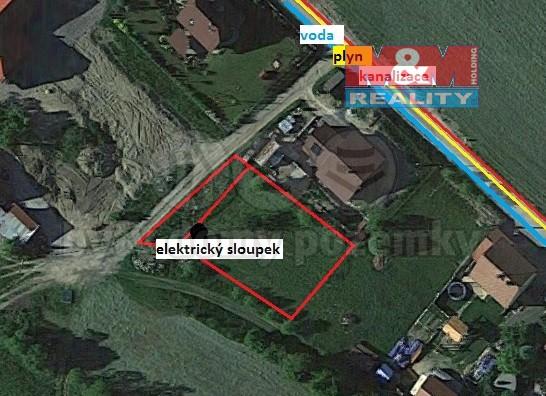 Prodej, stavební pozemek, 759 m2, Lhota u Vsetína