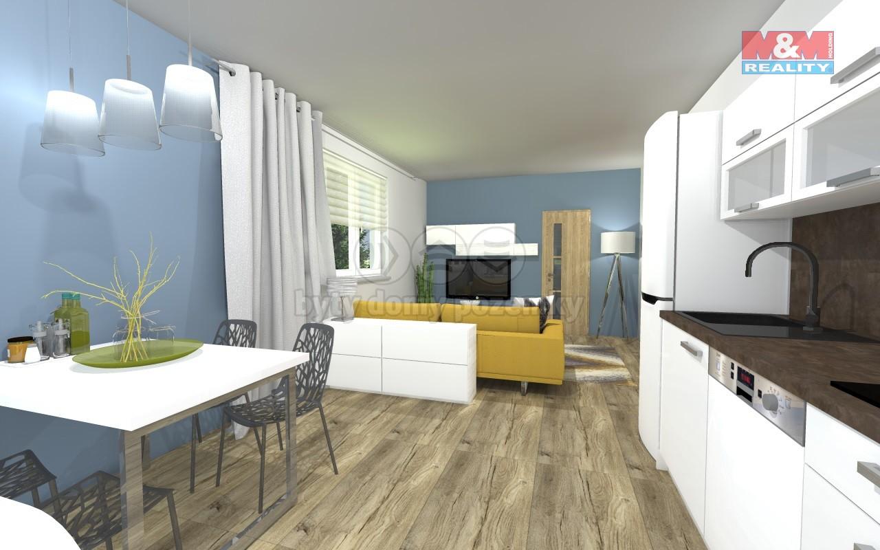 Prodej, byt 4+kk, 90 m2, Brno - Veveří, ul. Grohova