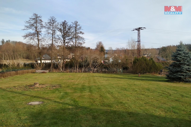 Prodej, stavební pozemek, 1166 m2, Valy, ul. Kynžvartská