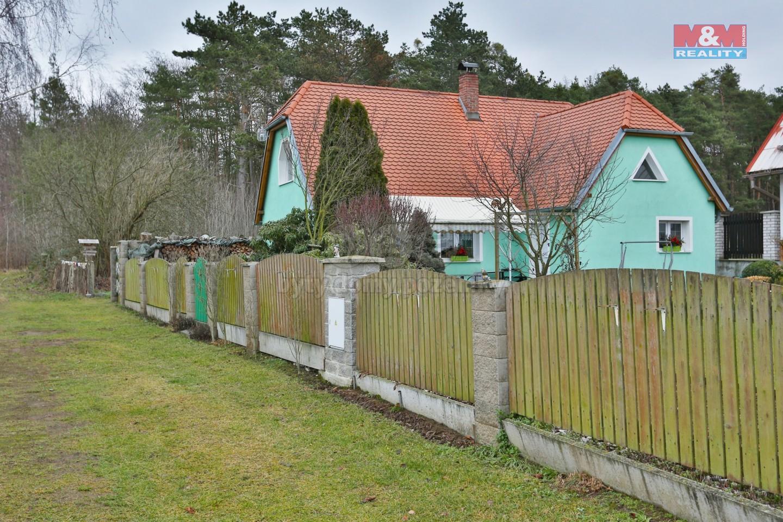 Prodej, rodinný dům, 4kk+G, 593 m2, Zemětice - Chalupy