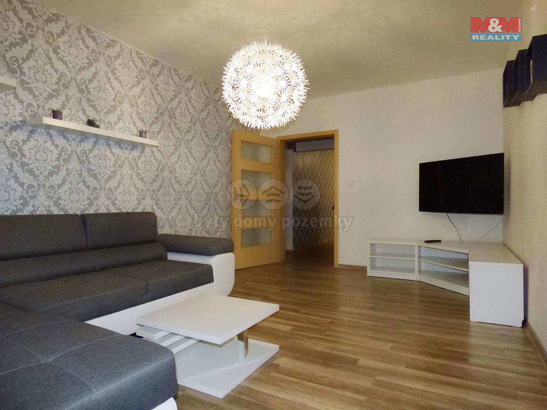 (Pronájem, byt 3+1, 74 m2, Opava - Předměstí)