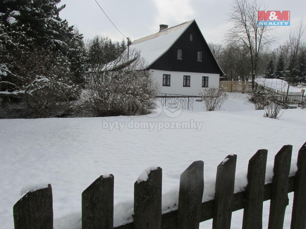 Prodej, rodinný dům 4+kk, 2526 m2, Rudná pod Pradědem