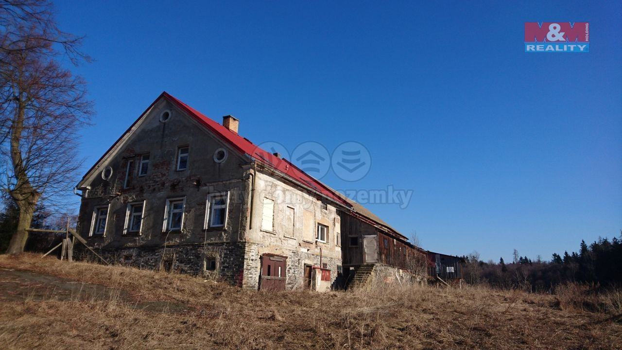 Prodej, rodinný dům 9+1, 3291 m2, Malá Štáhle