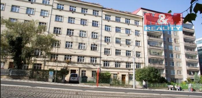 Pronájem, byt 2+kk, 46 m2, Praha 3 - Žižkov