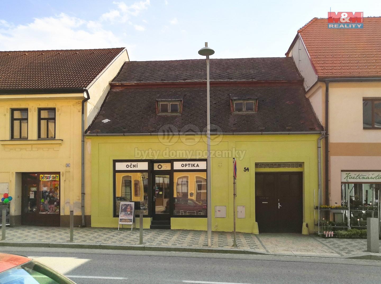 Prodej, rodinný dům, Moravské Budějovice, ul. nám. ČSA