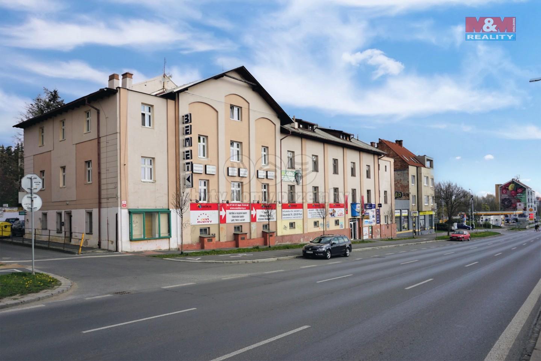 Pronájem, kancelářské prostory, 56 m2,Plzeň, ul. Karlovarská