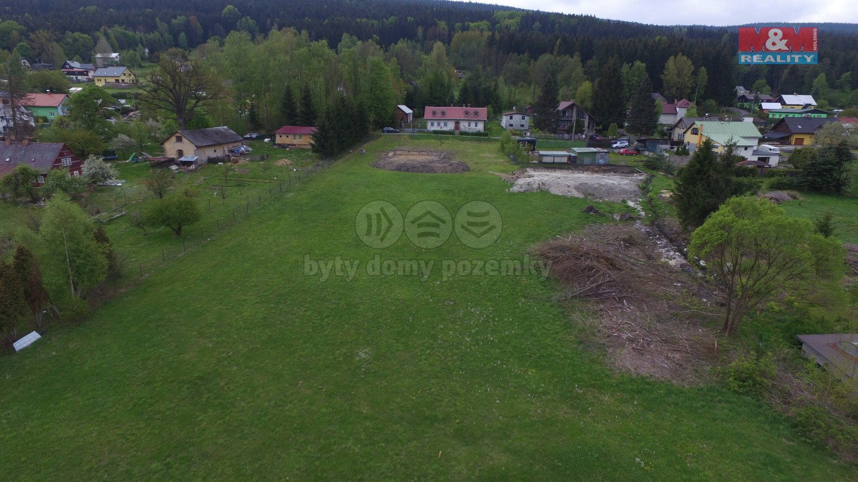 (Prodej, stavební parcela, 841m2, Smržovka), foto 1/18