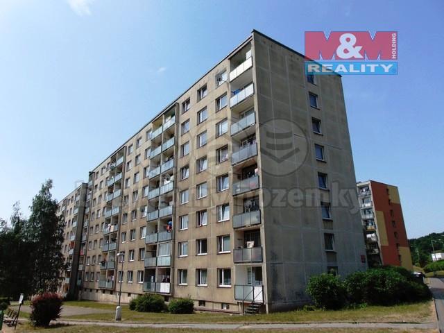 Pronájem, byt 1+1, 41 m2, Ústí nad Labem, ul. J. Plachty