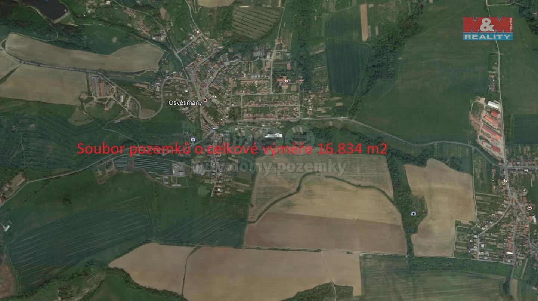 Prodej, pole, 16834 m2, Osvětimany