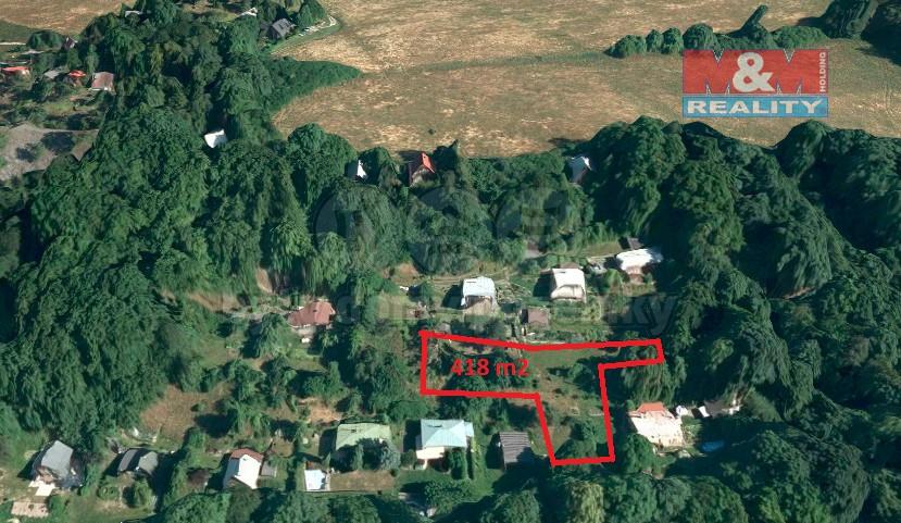 Prodej, pozemek, 418 m2, Vítkov - Nové Těchanovice