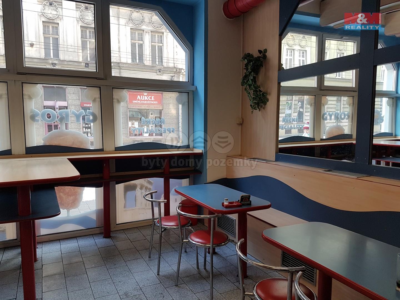 Pronájem, restaurace, 144 m2, Ostrava, ul. Českobratrská