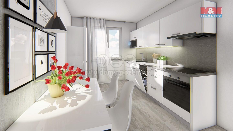 Prodej, byt 3+1, 72 m2, Olomouc, ul. Albertova