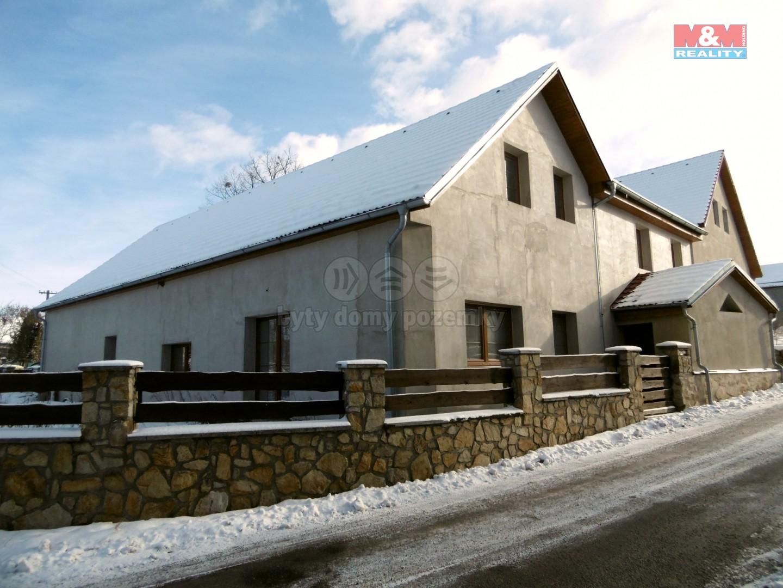 (Prodej, rodinný dům, 5+1, 1079 m2, Horní Žďár)