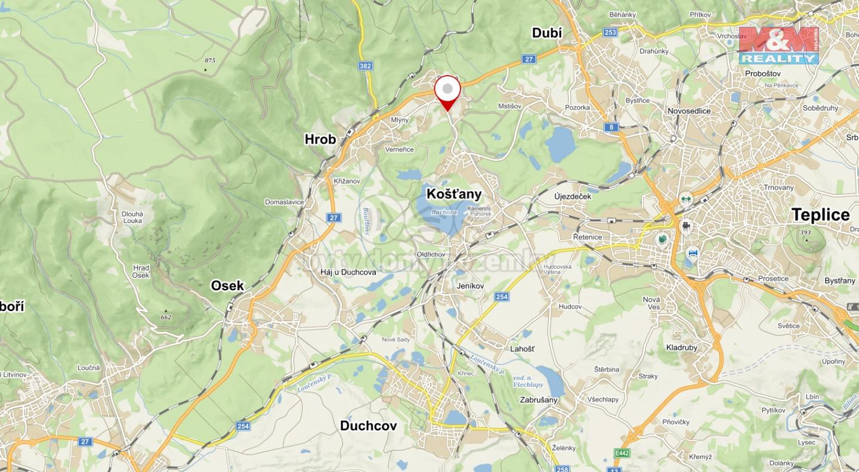 Mapa s umístěním
