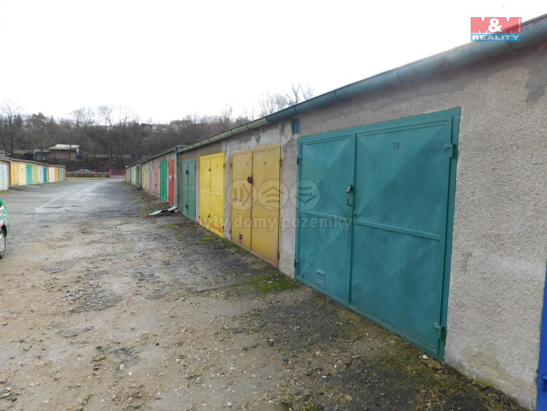 Prodej, garáž, DV, 20 m2, Slaný