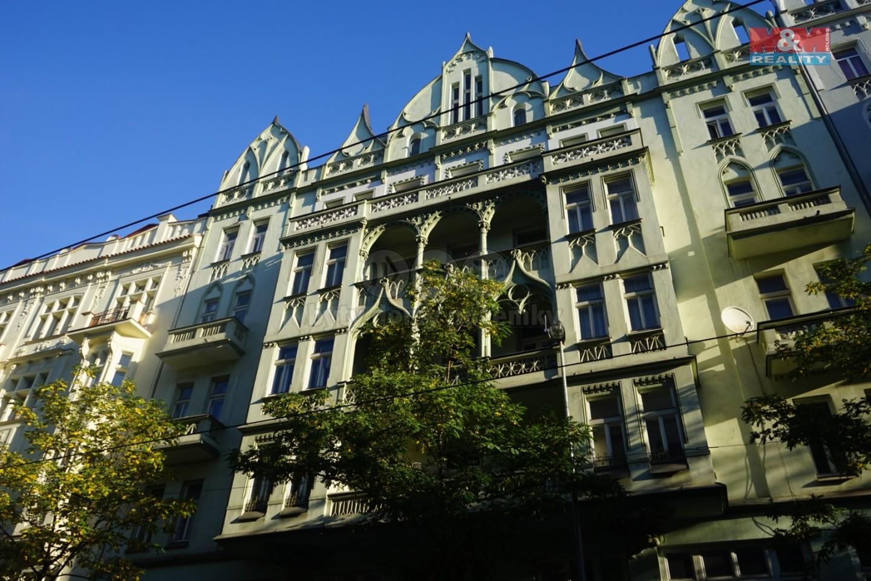 Pronájem, byt 2+kk, 82 m2, Praha 2 - Vinohrady