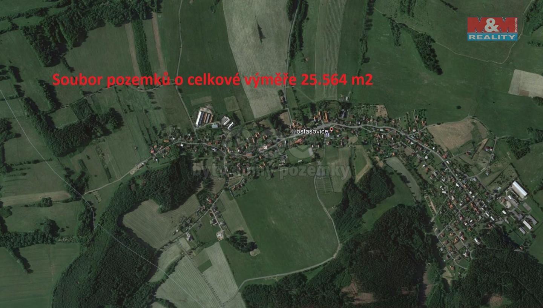 Prodej, louka, 25564 m2, Hostašovice