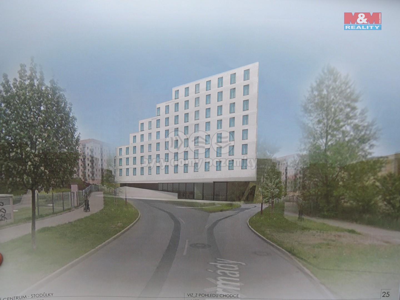 Prodej, stavební pozemek, 12.423 m2, Praha, ul. Armády