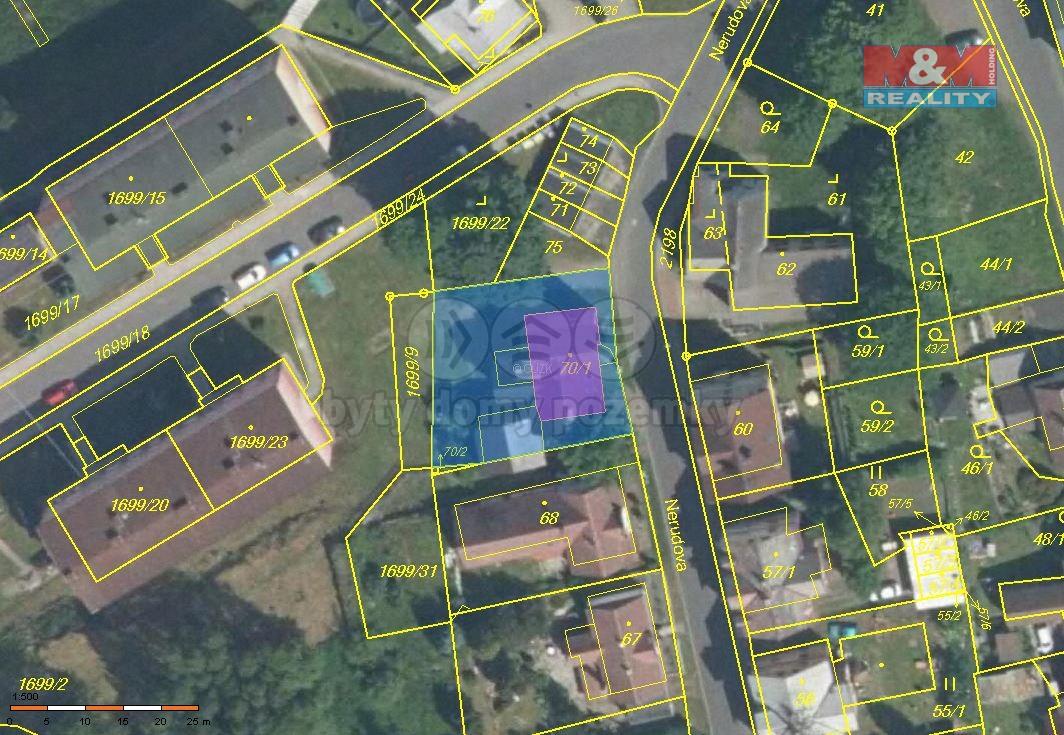Prodej, rodinný dům, 568 m2, Vejprty, ul. Nerudova
