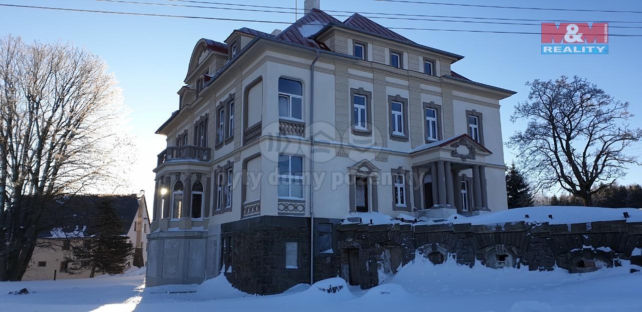 Prodej, vila, 624 m2, Kovářská, ul. Nádražní