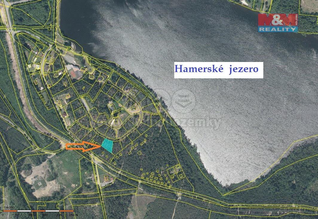 Mapa (Prodej, pozemek 1224 m2, Hamr na Jezeře), foto 1/12