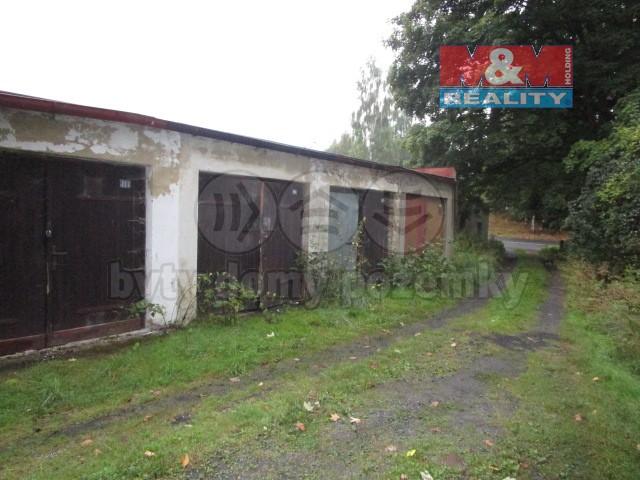 Prodej, garáž, 18 m2, Aš, ul. Saská