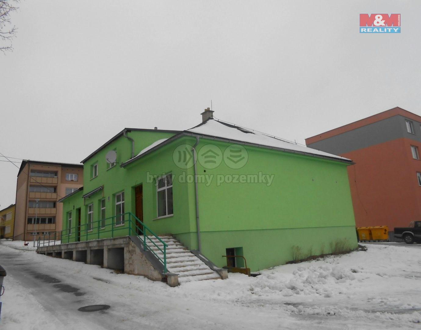 (Prodej, obchodní objekt, 507 m2, Dvorce u Bruntálu)