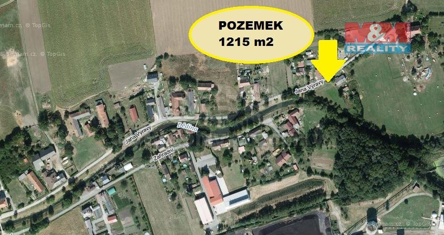 (Prodej, pozemek, 1215 m2, České Meziříčí), foto 1/4
