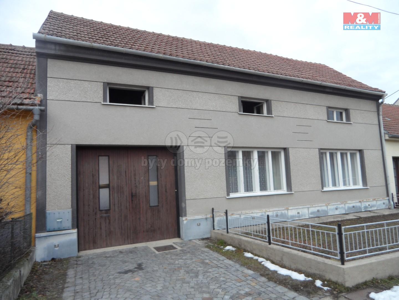 Prodej, rodinný dům 3+1, 1133 m2, Nemojany, okr. Vyškov
