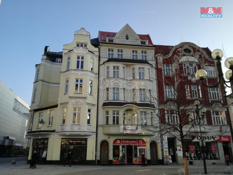 Pronájem, byt 2+1, 53 m2, Ostrava, ul. Jiráskovo náměstí
