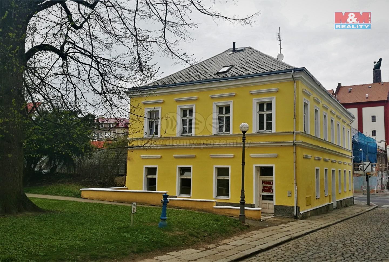 Prodej, nájemní dům, 243 m2, Domažlice, ul. Boženy Němcové