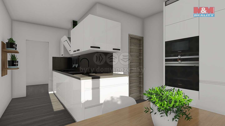 Prodej, byt 3+1+lodžie, 61 m2, DV, Ústí n. Labem, ul. Maková