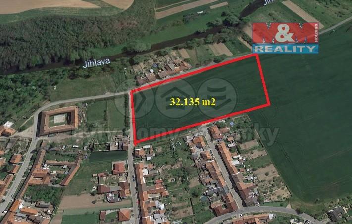 (Prodej, stavební pozemek, 32 135 m2, Ivančice - Hrubšice), foto 1/3