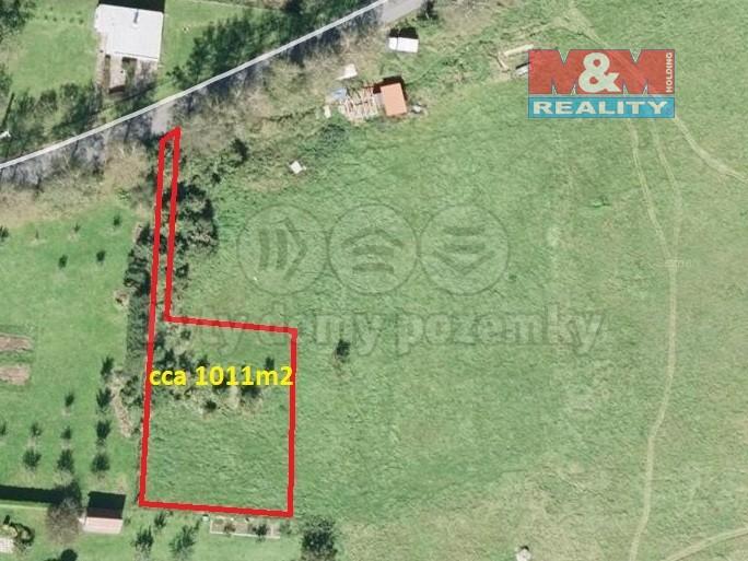 Prodej, stavební pozemek, 1011 m2, Valašské Meziříčí