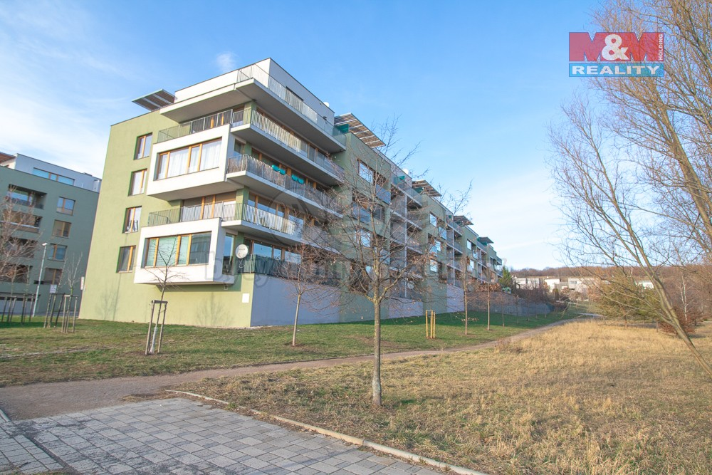 Pohled na dům (Prodej, byt 2+kk, 93 m2, Praha 5 - Jinonice, ul. Vidoulská), foto 1/19