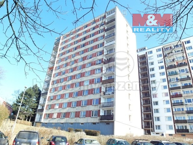 Pronájem, byt 1+1, 41 m2, DV, Ústí nad Labem, ul. Muchova
