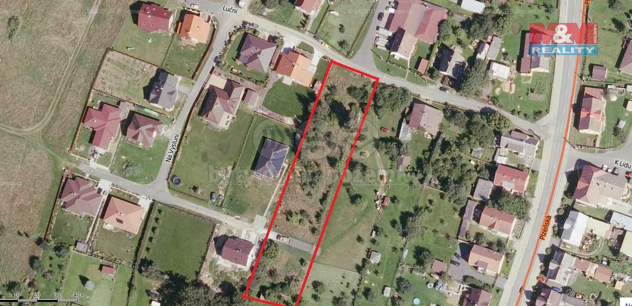 Prodej, pozemek, 1262 m2, Drmoul