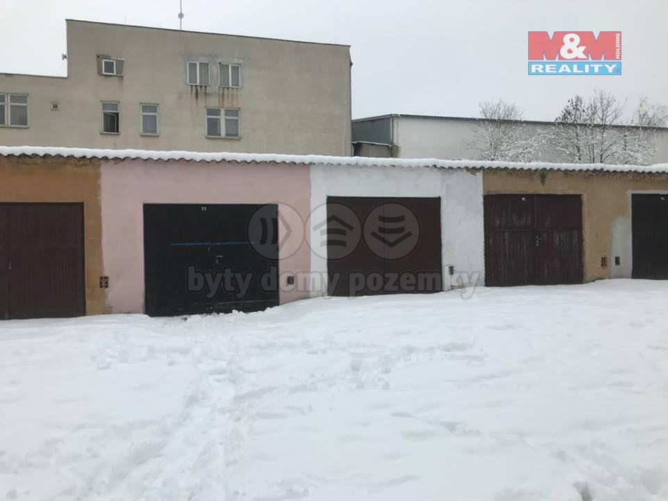 (Prodej, garáž, Plzeň, ul. Kreuzmannova)
