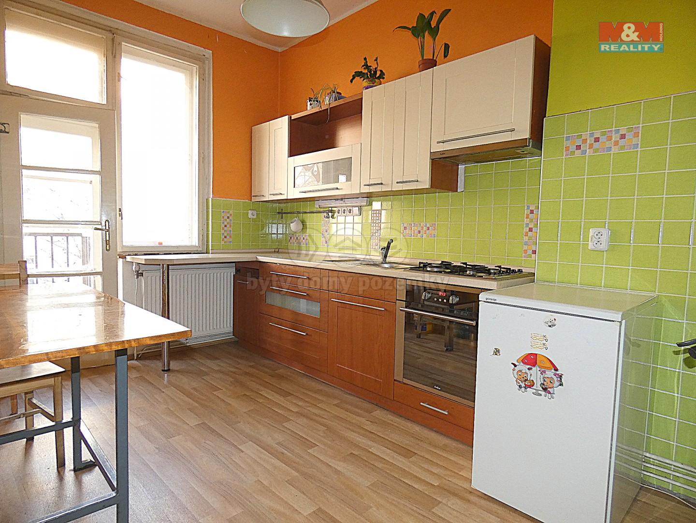 Pronájem, byt 3+1, 65 m2 Ostrava, ul. Veleslavínova