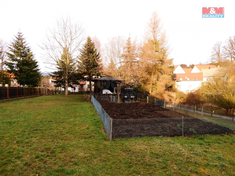 vrchní část pozemku (Prodej, zahrada, 718 m2, Ústí nad Labem, Skorotice)