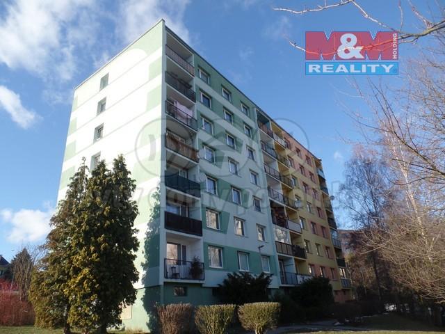 Pronájem, byt 1+1, 35m2, Děčín-Želenice
